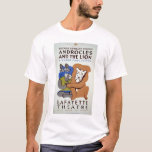 Androcles & The Lion 1939 WPA T-Shirt