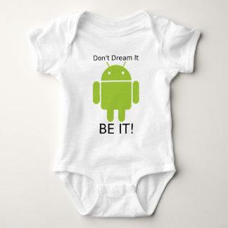 Androd Be It Baby Bodysuit