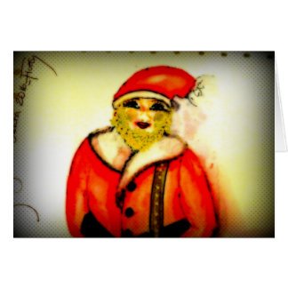 Androgenous Saint Nicholas Card