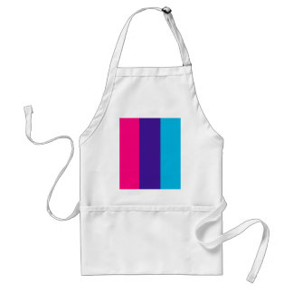 Androgyne pride flag adult apron