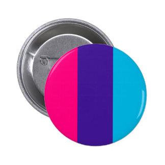 Androgyne pride flag pinback button