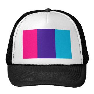 Androgyne pride flag trucker hat
