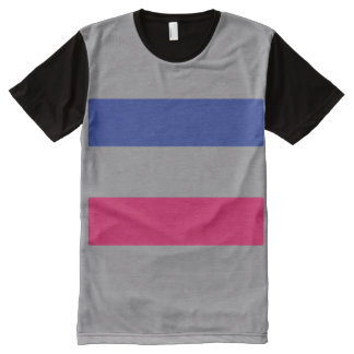 Androgynous Pride All-Over Print T-shirt