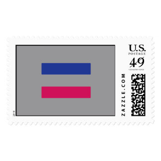 ANDROGYNOUS PRIDE FLAG STAMP