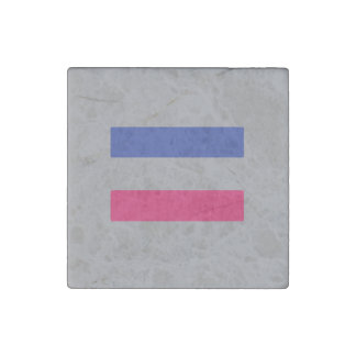 ANDROGYNOUS PRIDE STONE MAGNET