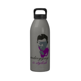 Androgyny is stylish reusable water bottle