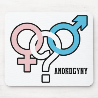 Androgyny Mouse Pads