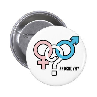Androgyny Pinback Button