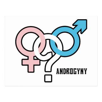Androgyny Postcard