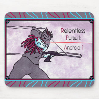 """Android 1"" Mousepad"
