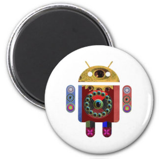 ANDROID 2012 by Navin Joshi Refrigerator Magnets