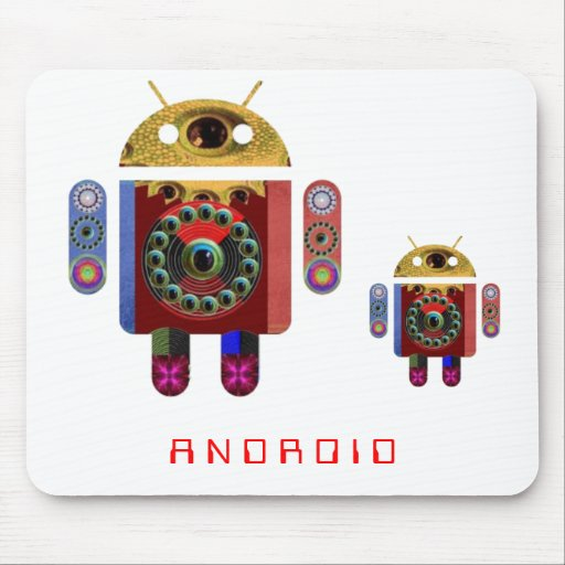 ANDROID 2012 by Navin Joshi Mouse Pad