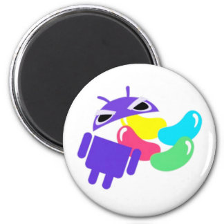 Android 5.0 Jelly Bean 2 Inch Round Magnet