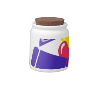 Android 5.0 Jelly Bean Candy Jar
