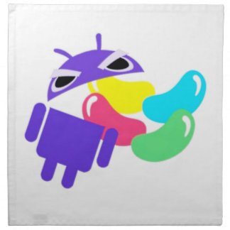 Android 5.0 Jelly Bean Napkins