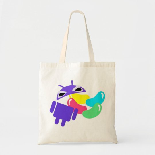 Android 5.0 Jelly Bean Tote Bag