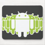 Android Army Mouse Pad
