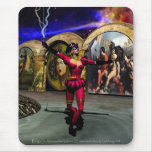 ANDROID BALLET MOUSE PAD