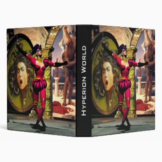 ANDROID BALLET , Science Fiction 3 Ring Binder