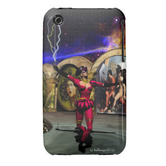 ANDROID BALLET , Science Fiction iPhone 3 Cover