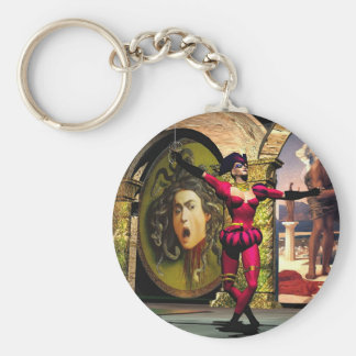 ANDROID BALLET , Science Fiction Keychain