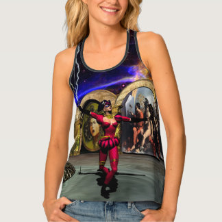 ANDROID BALLET, Science Fiction,Sci-Fi Tank Top