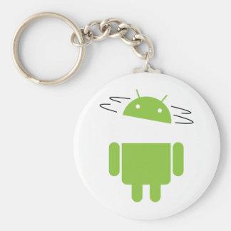 Android Basic Round Button Keychain