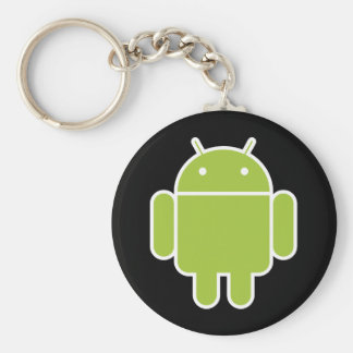 Android Basic Round Button Keychain