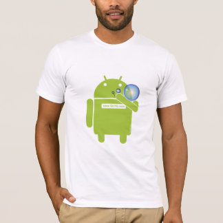 Android Blowing Bubbles shirt