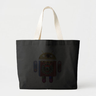 ANDROID by Navin Joshi Tote Bags