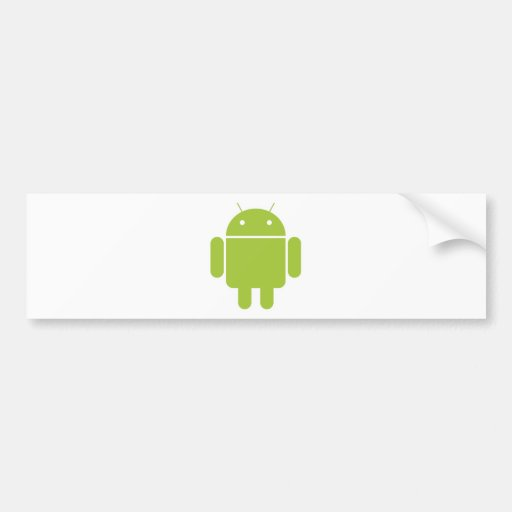 Android Car Bumper Sticker