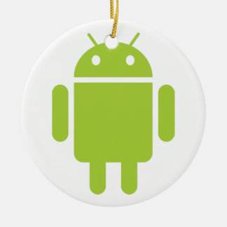 Android Ceramic Ornament