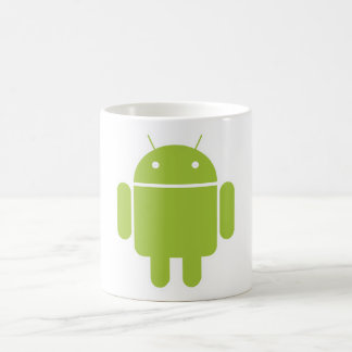 Android Classic White Coffee Mug