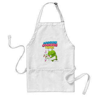 Android Cooking Time Adult Apron