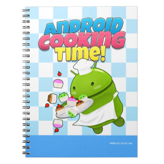 Android cooking time libretas espirales