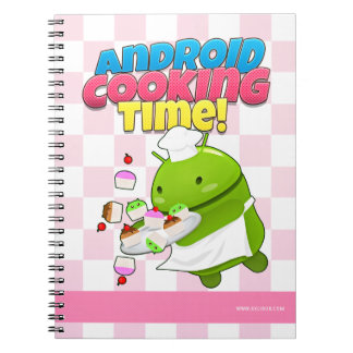 Android cooking Time notebook