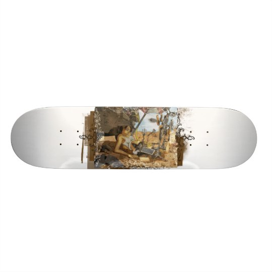 Android Cowgirl Jump Start Skateboard Deck