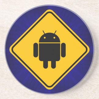 Android Crossing Coaster