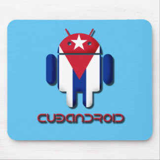 Android Cuba Flag Design Mouse Pad