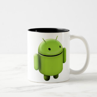 Android cup Two-Tone coffee mug