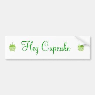 Android Cupcake Bumper Sticker