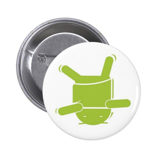 Android Dance Pinback Button