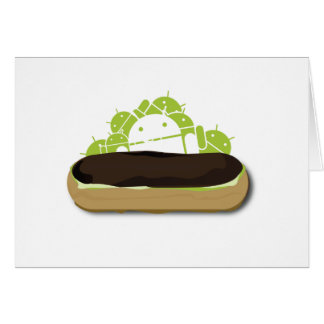 Android Eclair... Yummy!! Greeting Card