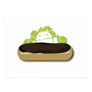 Android Eclair... Yummy!! Postcard