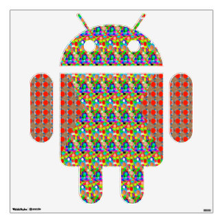 ANDROID Electronics Color Tone and Jewel by NAVIN Wall Decal