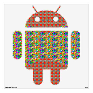 ANDROID Electronics robot Tone and Jewel by NAVIN Wall Sticker