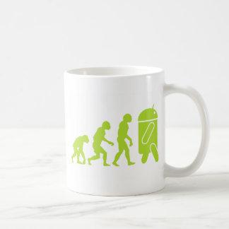 Android Evolution Classic White Coffee Mug