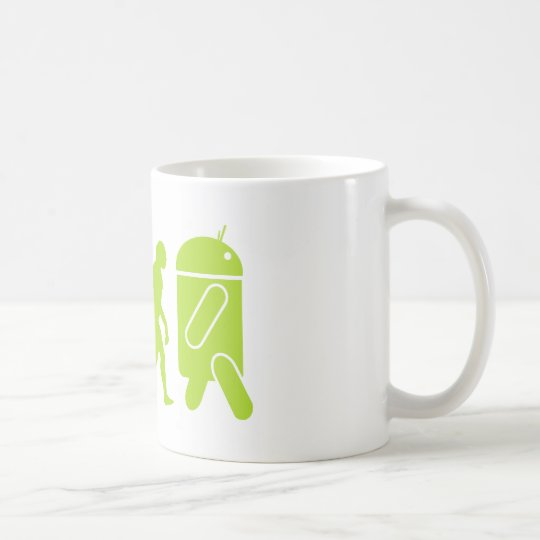 Android Evolution Coffee Mug