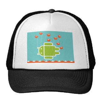 Android Fail Whale Trucker Hat