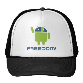 Android=Freedom Gorros Bordados